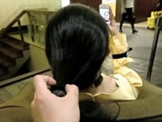 Chinese Hairjob 10