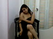Arab Girl Undresses For Husband