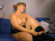 German Blonde MILF Fucked In A Hot Sex Tape